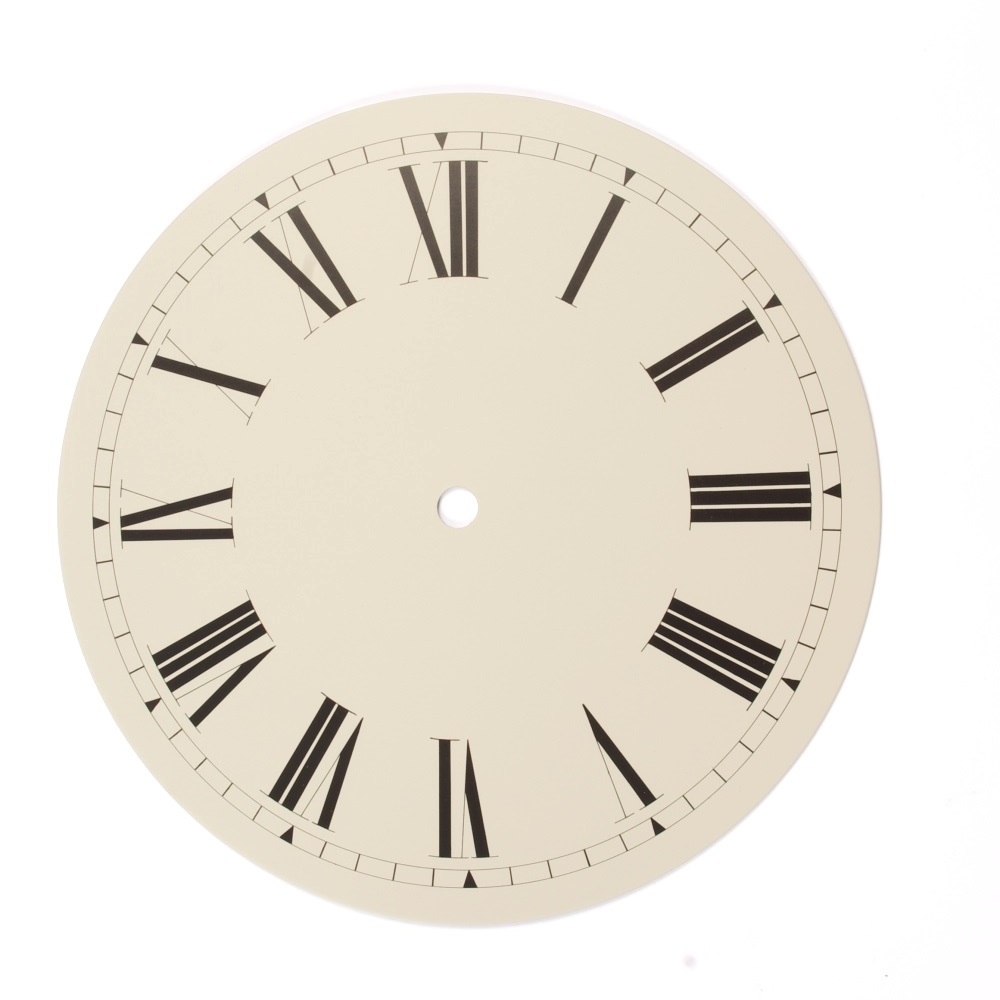 Clock Dial Time Restored